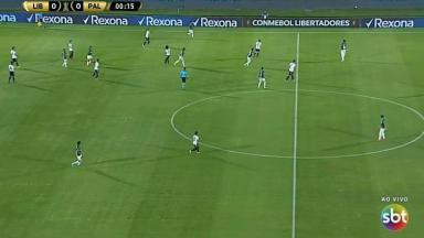 Palmeiras e Libertad pelo SBT