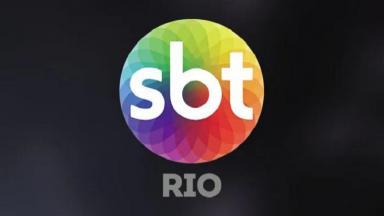 Logotipo do SBT Rio