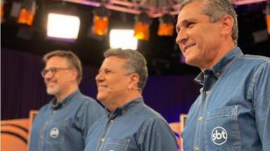 Mauro Beting, Téo José e Jorginho