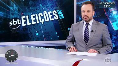 O jornalista Marcelo Torres, apresentador do SBT Brasil