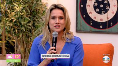 Fernanda Gentil no comando do Se Joga