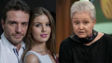Protagonistas de Verdades Secretas e Maria Adelaide Amaral