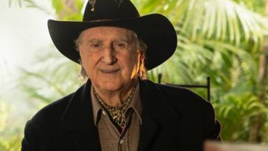 Sergio Reis com chapéu