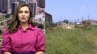 Priscilla Bittencourt apresentando jornal da Globo Sergipe