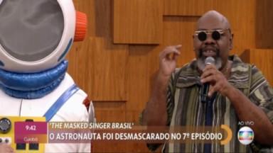 Sérgio Loroza e a fantasia do Astronauta