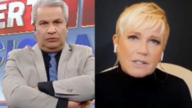 Sikêra Jr e Xuxa Meneghel