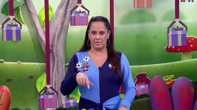 Silvia Abravanel apresentando o Bom Dia & Cia