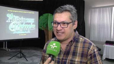 Silvio Toledo em entrevista para a TV Cultura