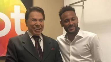 Silvio Santos e Neymar