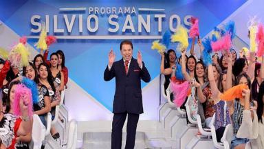 Silvio Santos no auditório