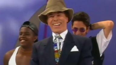 Silvio Santos em 1995