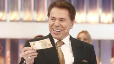 O apresentador Silvio Santos