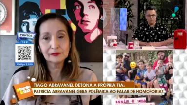 Sônia Abrão desaprovou o comentário de Patrícia Abravanel