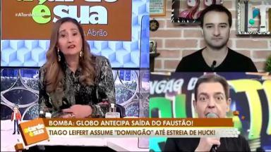 Sônia Abrão comentou a saída de Faustão da Globo