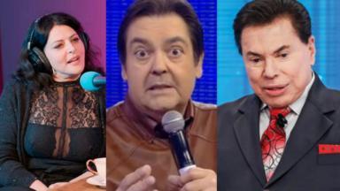 Sonia Lima, Faustão e Silvio Santos