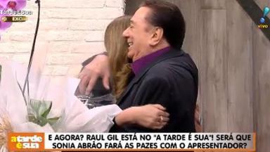 Raul Gil e Sônia Abrão