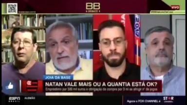 Celso Unzelte e Fábio Sormani na ESPN Brasil