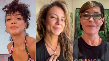 Dandara Mariana, Paolla Oliveira e Christiane Torloni são nomes confirmados para a última temporada da Dança dos Famosos do Domingão do Faustão