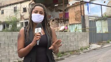 Tábata Poline, repórter da Globo Minas, trabalha de tranças e comemora fato em rede social