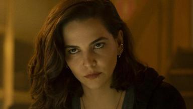 Tainá Müller em cena da série Bom Dia, Verônica, da Netflix