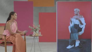 Taís Araujo entrevista Xuxa no programa Superbonita, do canal pago GNT