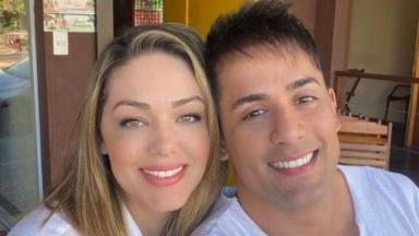 Tânia Mara e Tiago Silva não estão mais juntos