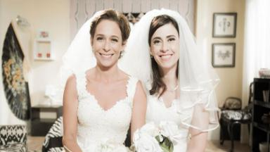 Fernanda Torres e Andréa Beltrão em Tapas & Beijos