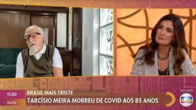 Ary Fontoura ao vivo com Fátima Bernardes