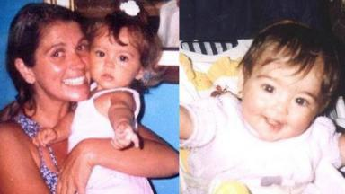 Tássia Camargo e sua filha