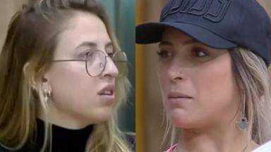 Tati Dias diz que tem vontade de vomitar na cara de Bifão no reality show A Fazenda 2019