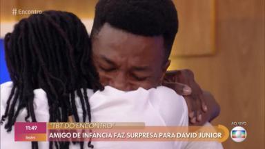 """David Junior no """"Encontro"""""""