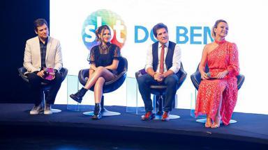 Celso Portiolli, Maisa Silva, Daniel e Eliana