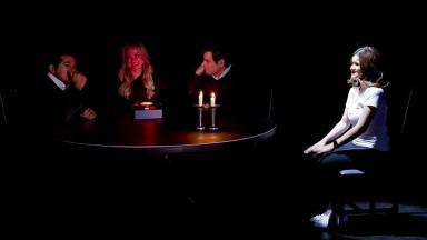 Maisa, Daniel e Eliana em campanha do Teleton