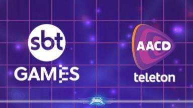 Logotipo SBT e Teleton