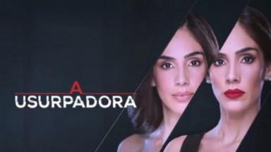 Divulgação da novela A Usurpadora com a atriz Sandra Echeverría
