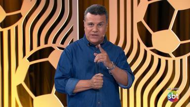 Téo José narrou o Fla-Flu pelo SBT, em julho