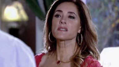 Tereza Cristina esnobando Fred em Fina Estampa