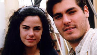 Ana Paula Arósio e Tiago Lacerda