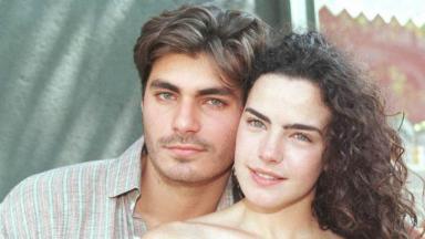 Thiago Lacerda e Ana Paula Arósio