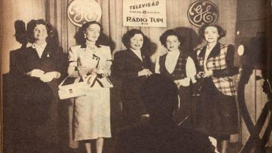 Tônia Carreiro, Nely Rodrigues, Aimée, Virgínia Laine e Alma Flora