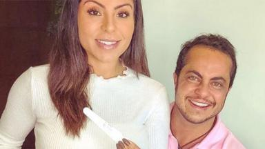 Andressa Ferreira e Thammy Miranda sorrindo