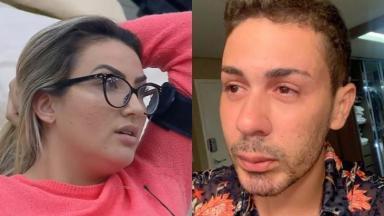 Thayse Teixeira e Carlinhos Maia são amigos fora do reality show A Fazenda 2019