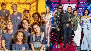 Malhação e The Voice Kids