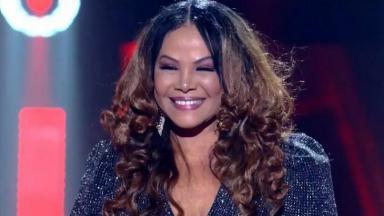 Mãe de Alexandre Pires no The Voice +