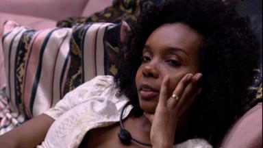 Thelma durante o reality show BBB20