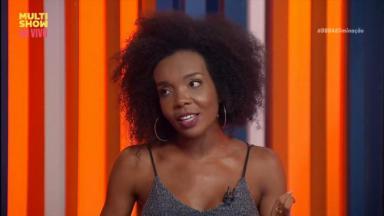 Thelma no programa A Eliminação do canal Multishow