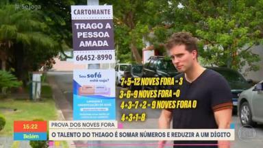 Thiago Fragoso participa do Se Joga na Globo