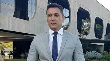 O repórter Thiago Nolasco