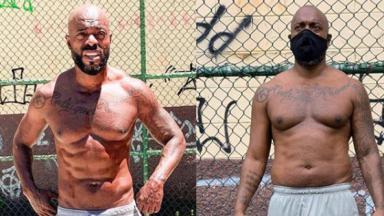 Thiago Thomé antes e durante a quarentena