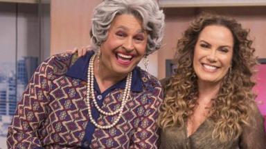 Tia e Regina Volpato no Mulheres